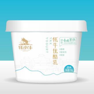 香格里拉康美酸奶包裝設計