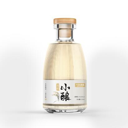 发酵米酒瓶型设计