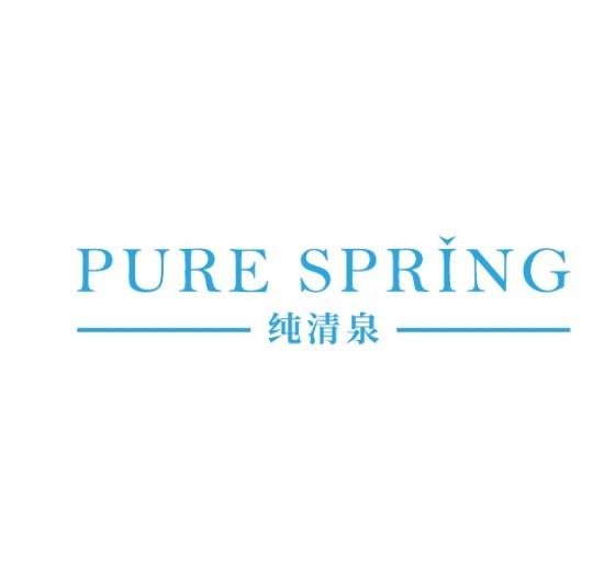 纯清泉logo设计