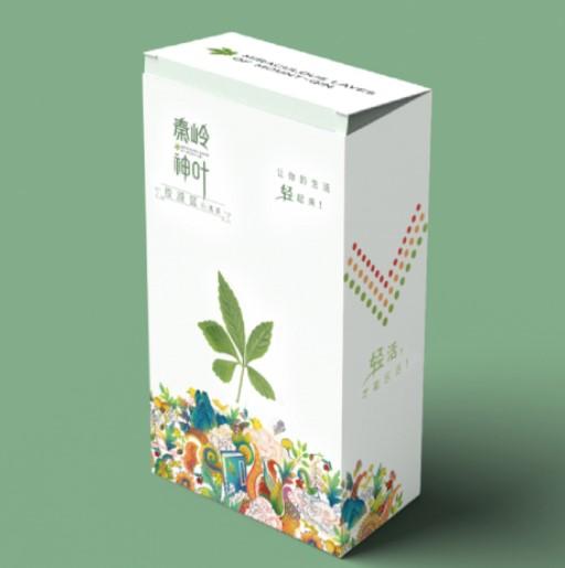 秦岭神叶饮品包装设计