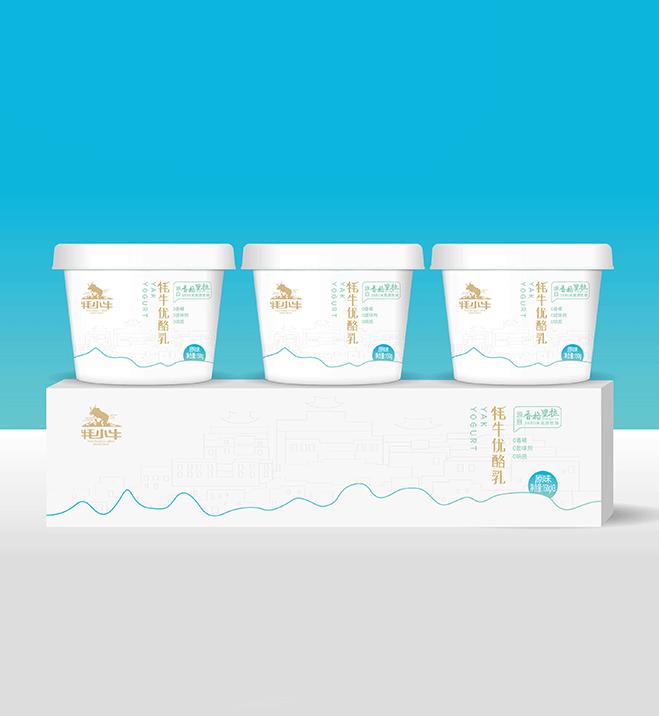 康美乳业酸奶包装设计