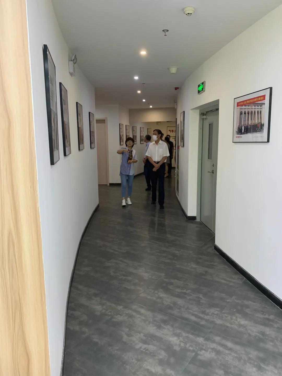 長春市委常委、統戰部部長、天津市政府副秘書長劉德生一行蒞臨藝點意創考察參觀