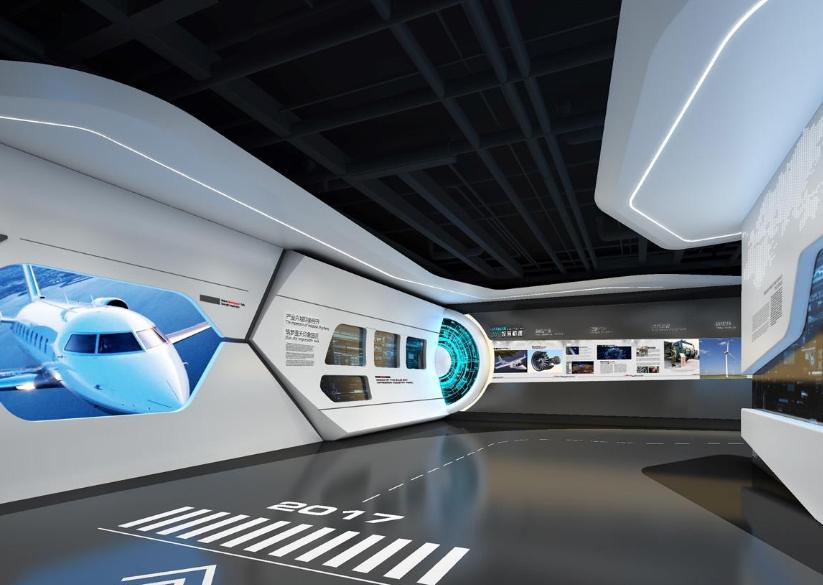 上海工業數字展廳設計風格有什么