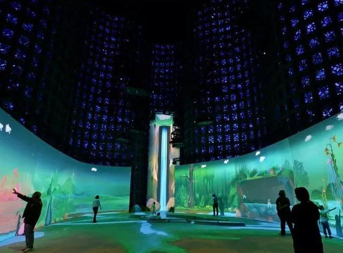 數字展廳設計的沉浸式投影是什么