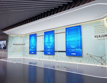 金融企業數字展廳設計的相關技巧