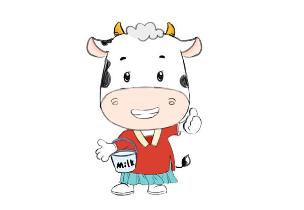 牛形象设计,文创形象设计