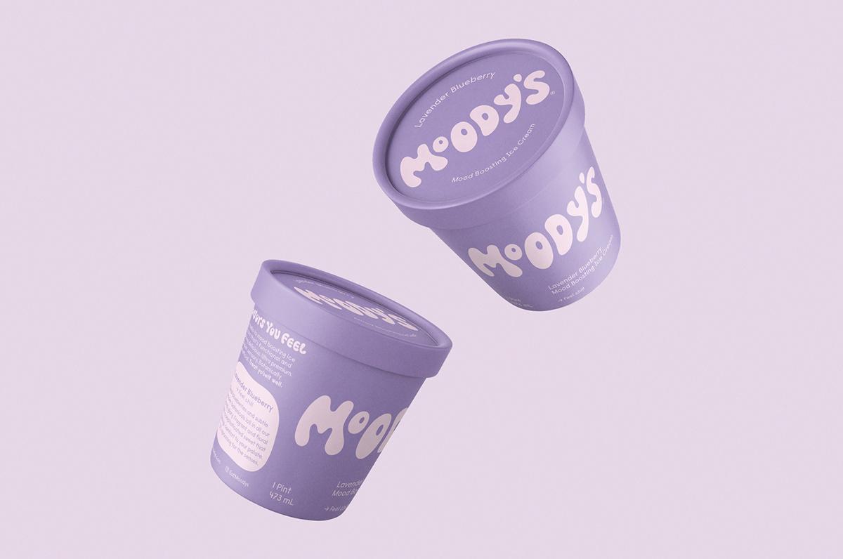 藝點冰淇淋包裝設計案例-每天一點創意