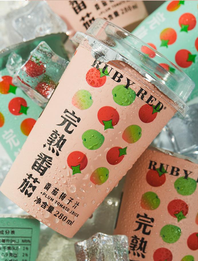 藝點果汁包裝設計案例-每天一點創意