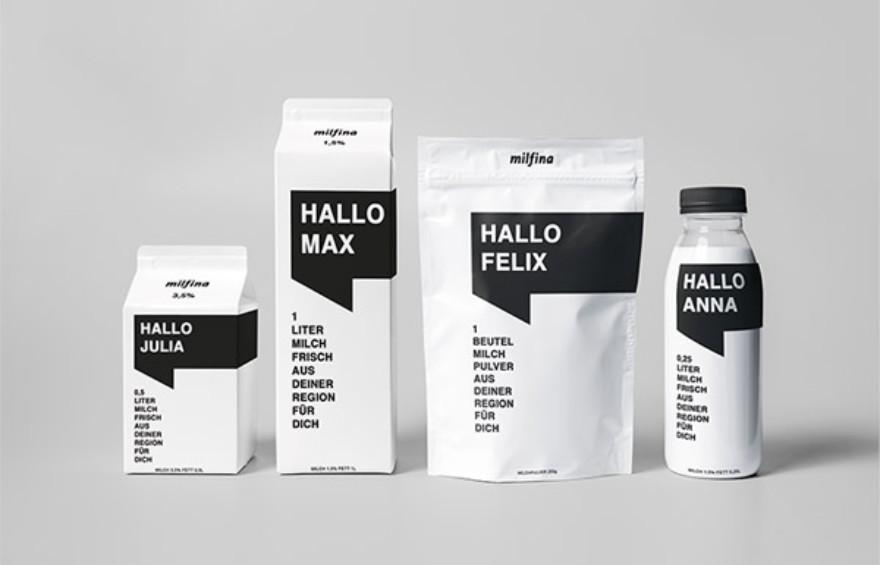 20款牛奶包装设计案例分享