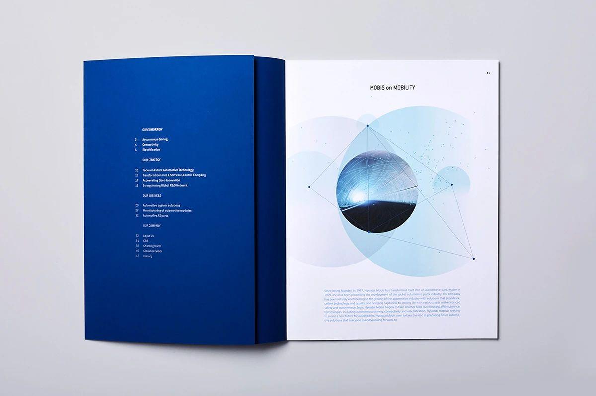 企业画册设计的页面组成有哪些