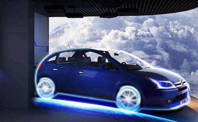 汽車數字展廳設計參觀路線時怎樣設計比較合理