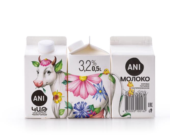 酸奶包装设计作品欣赏