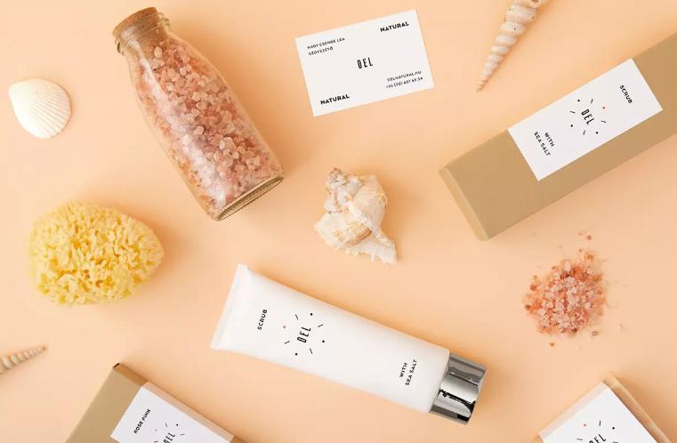 極簡化妝品包裝設計作品欣賞