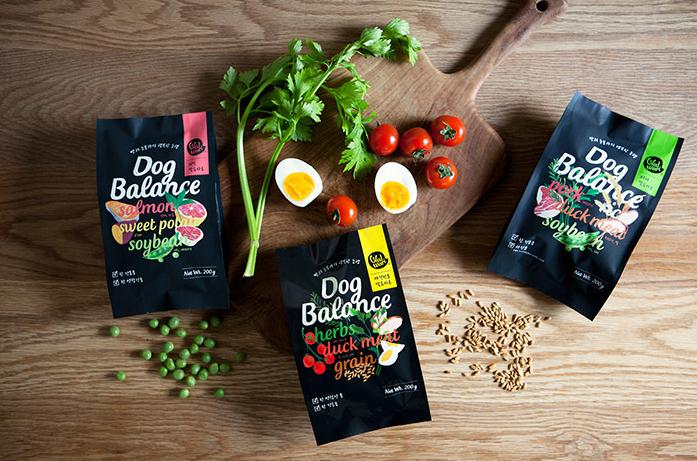 國外狗糧包裝設計作品欣賞