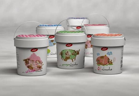 酸奶禮盒設計作品欣賞