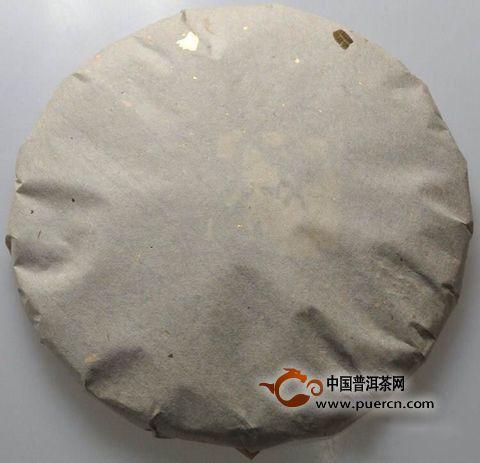 普洱茶餅包裝設計,棉紙的疊法