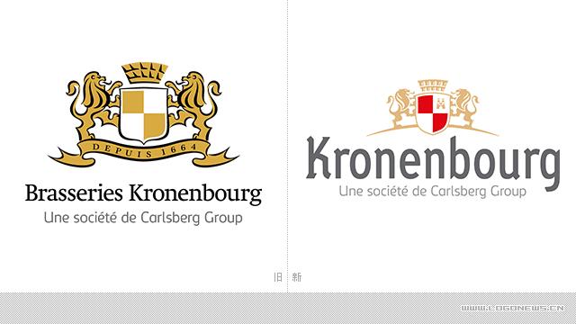 法國啤酒公司啟用品牌新形象設計