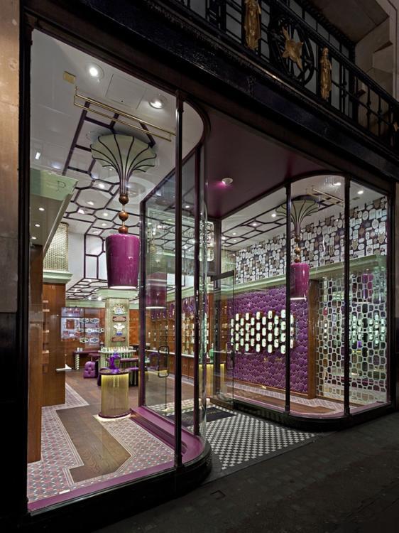 英國Penhaligon香水品牌專賣店設計