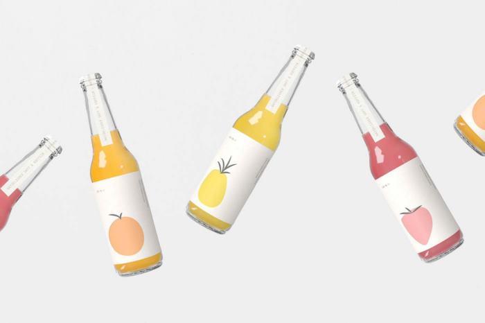 以健康著称的功能饮料包装设计