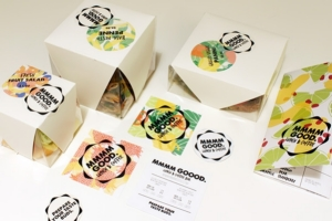 咖啡館和午餐酒吧食品品牌包裝設計