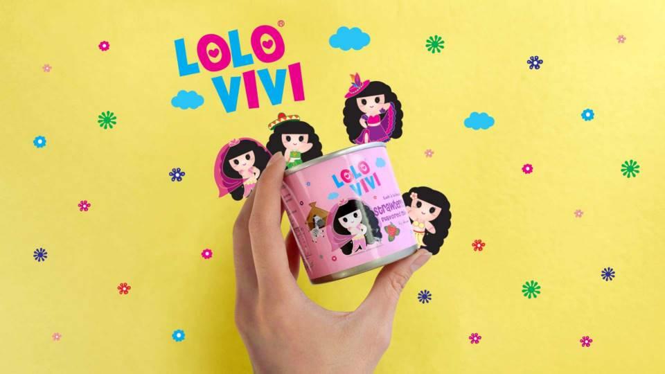 lolo vivi牛奶飲品品牌包裝設計