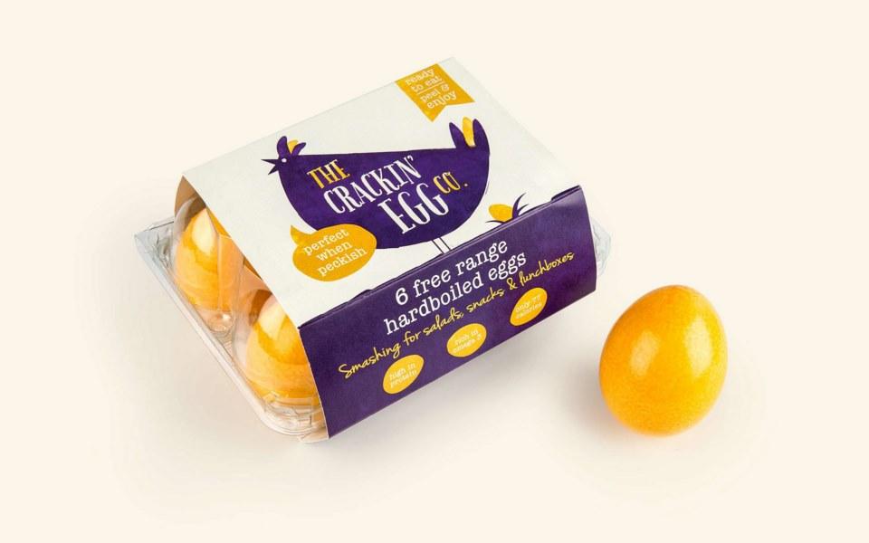 美味個性的雞蛋包裝設計