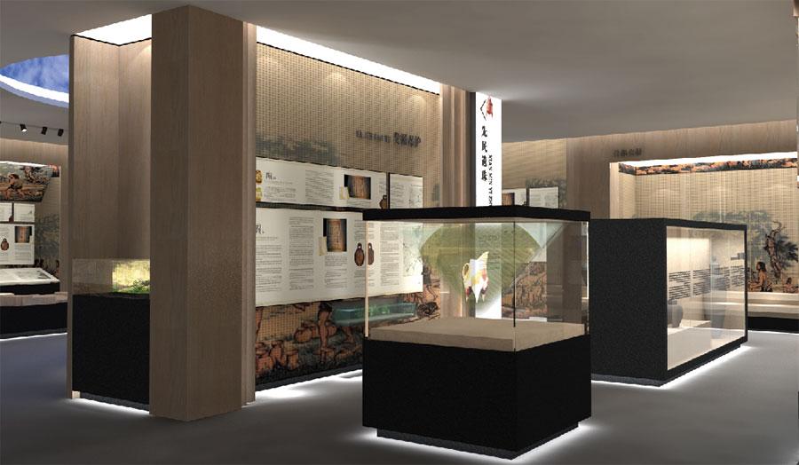 淮南市博物馆LOGO设计理念