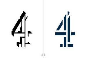 英国第四频道推出统一系列logo设计