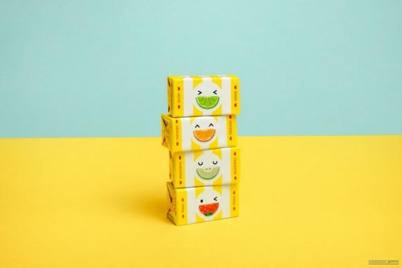 FRUNA可愛的小食品包裝設計案例賞析