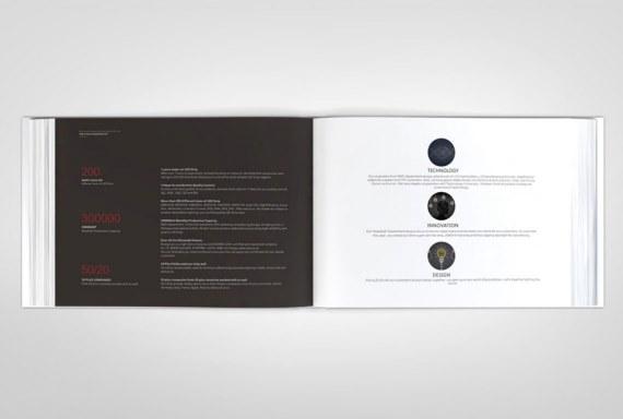 深圳市瑞景上光电有限公司画册设计案例赏析