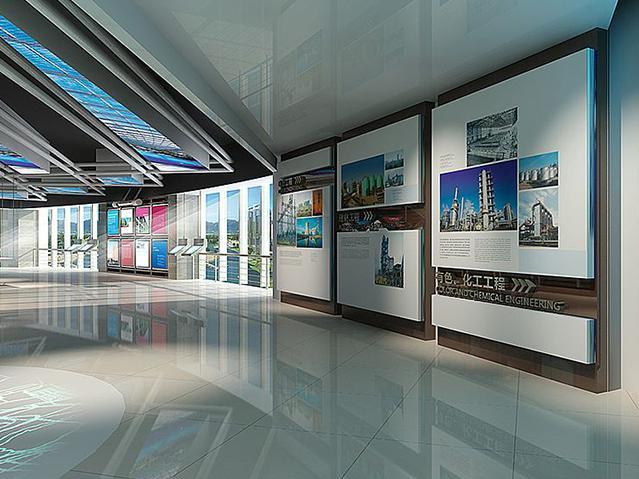 企业展厅设计费用是怎么计算的