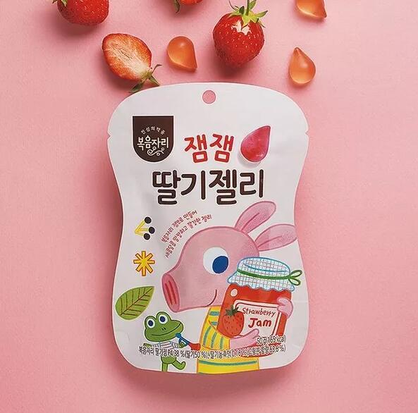 韓國食品包裝設計如何突出其鮮明的個性效果